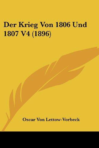 Der Krieg Von 1806 Und 1807 V4 (1896)