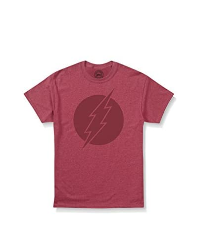 ZZ-DC Comics Camiseta Manga Corta Vintage Flash