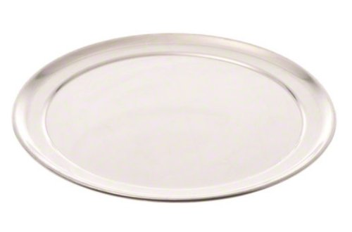 American Metalcraft TP10 TP Series 18-Guage Aluminum Standard Weight Wide Rim Pizza Pan, 10-Inch