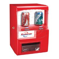 Koolatron(tm) Vending Machine-Red