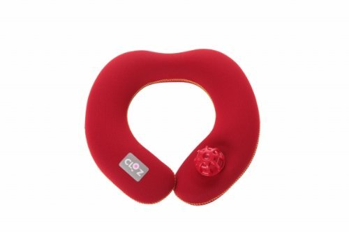 Soft or hot water bottle shoulder type (small) (red)