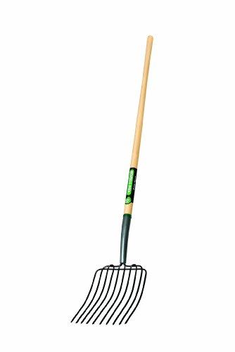 Truper 30331 Tru Tough 54-Inch Manure/Bedding Fork, 10-Tine, Long Handle