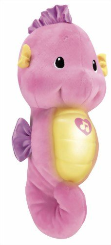 Fisher Price Pink Soothe and Glow Seahorse