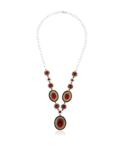 NALANDA JEWELS Collar Jaipur plata de ley 925 milésimas