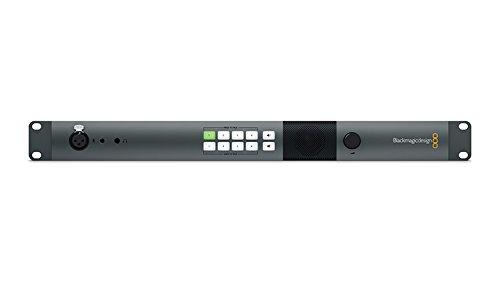 Blackmagic Design Atem Studio Converter 2, 4 Bi-Directional Converters In 1Ru Unit, 4 X Fiber To Sdi 10 Bit Converters