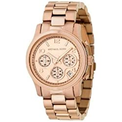 Michael Kors MK5128 Womens Runway Chronograph Bracelet Watch