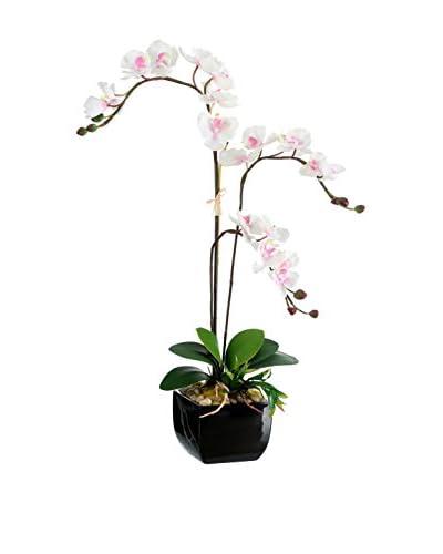Kunstbloemen witte orchidee