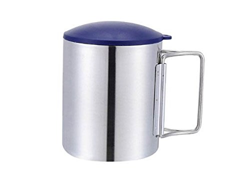 Camping Cup Steel Cup Water Cup Double Layer