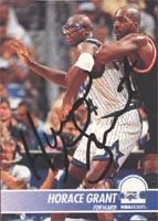 Horace Grant Orlando Magic 1995 Hoops Autographed Hand Signed Trading Card. by Hall+of+Fame+Memorabilia