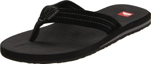 Quiksilver Men's Carver Suede 2 2012 Sandal,Black/Grey/Black,10 D (M) US