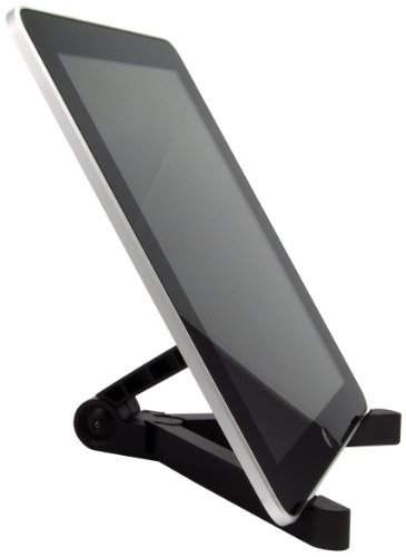 Arkon Portable Fold-Up Stand for Apple iPad, Galaxy Tab, Kindle Fire, Toshiba, Acer, ASUS, Nook and Other Tablets (IPM-TAB1)