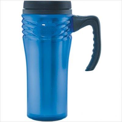 Aladdin 16-Ounce Savvy Traveler Mug, Blue