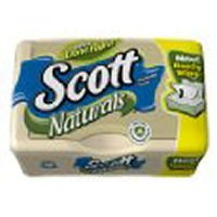 Scott Naturals with Aloe Vera Flushable Moist Wipes,51ct