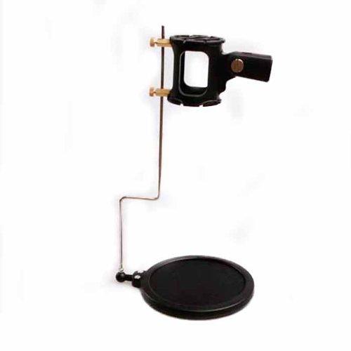 Toolmall Microphone Shock Mount W/ Built-In Pop Filter + Net Mk-012 Universal Kit For Sony Ecm-674,Ecm-678 Sennheiser Mkh 416,K6,Me80,Mkh 418-S