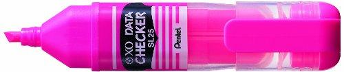 12pcs Pentel SL25 XO Data Checker (Box Set) - Pink