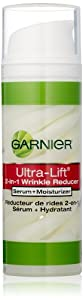 Garnier  Ultra-Lift 2-in-1 Wrinkle Reducer Serum and Moisturizer for Wrinkles and Firming, 1.7 Fluid Ounce