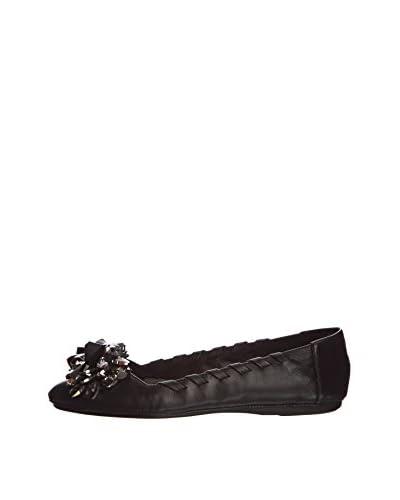 Dune  Marigold DI, Damen Ballerinas, schwarz – schwarz (black) – Größe: 36