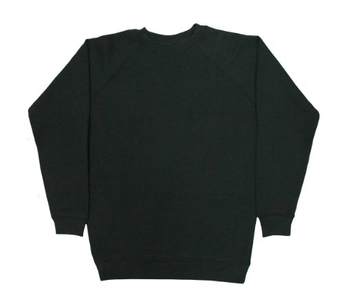 DEALTIME MENS PLAIN SWEATSHIRTS IN GREEN (SMALL)