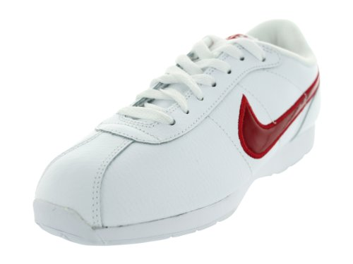 Nike Women's Stamina White/Varsity Red Casual Shoes 7 Women US