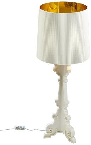 Kartell 907600 bourgie lampada colore bianco oro for Lampada kartell prezzo