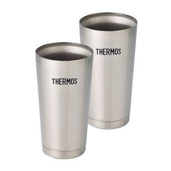 THERMOS 真空断熱タンブラー2個セット JMO-GP2
