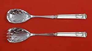San Lorenzo by Tiffany and Co Sterling Silver Salad Serving Set HH Fluted Custom