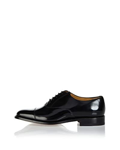 BARKER SHOES Zapatos Oxford Rouen Negro Charol