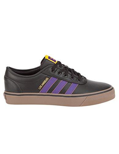 Adidas Men's Adi-Ease X NBA Cblack/Rgpung/Golsld Skate Shoe 10