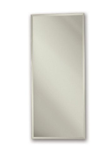 Nutone 52WH344DP Metro Deluxe Bath Cabinet, 34-Inch High 4-Inch Depth 1/2-Inch Beveled Trim