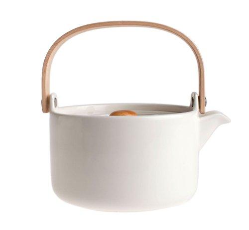 Marimekko Oiva weiß Teekanne 0,7 l