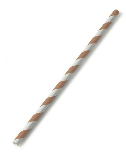 Sippers-Candy-Striped-Paper-Straws-Pecan-Brown