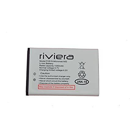 Riviera 1050mAh Battery (For Micromax A52)