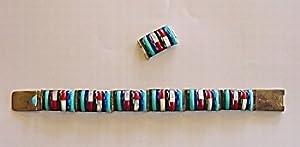 Zuni Channel Bracelet