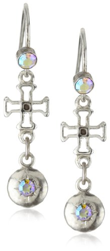 Delicate Cross Earrings