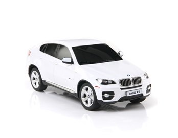 Rastar 31700 1:24 Scale 6 Channels Remote Control Model Licensed BMW X6 Car (White)