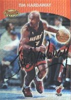 Tim Hardaway, Miami Heat, 2001 Bowmans Best Autographed Card