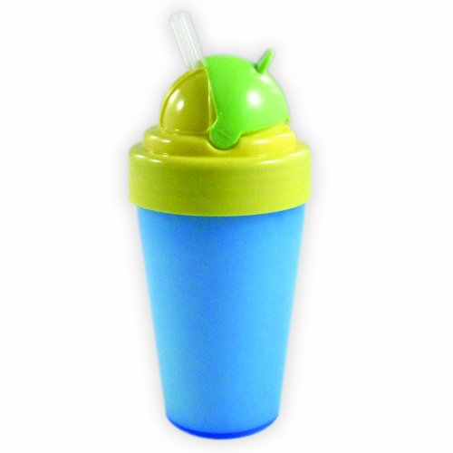Nurtria BPA Free Flip Top Straw Cup, Boy, 9 Ounce - 1