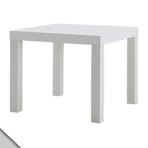 Ikea - Lack Side Table, White (X2)