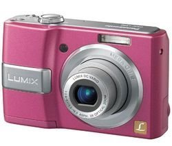 Panasonic - Lumix DMC-LS80 in pink