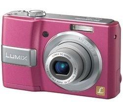 Panasonic - Lumix DMC-LS80 in pink