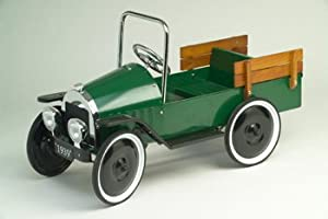 Jalopy Pick-up Green Pedal Car