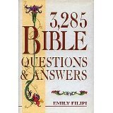 img - for 3,285 Bible Questions & Answers book / textbook / text book