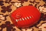レトロな陶器湯たんぽ(赤)