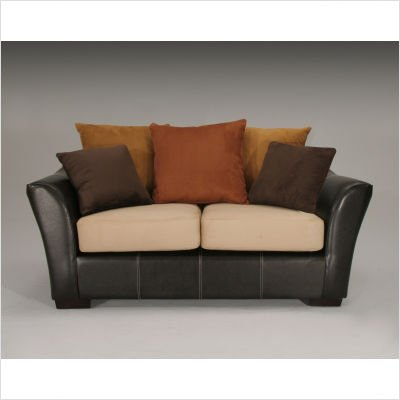 Buy Low Price Guildcraft Allegra Two Tone Loveseat (560D)