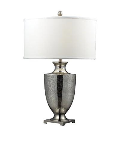 Artistic Lighting Langham Table Lamp, Mercury Glass/Chrome