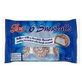 Lees Snowballs 6 Pack 110G