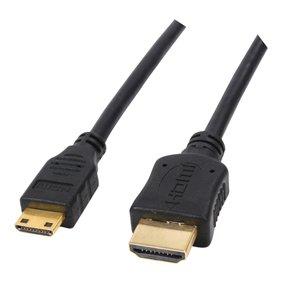 0500M-Cable Hdmi -Mini Hdmi plaqué or 1,50 M