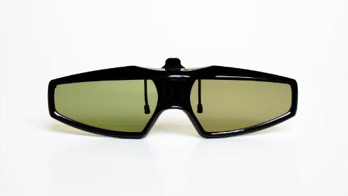 """Universal 3D Shutter 3D Brille speziell für Brillenträger """"CLIP-ON"""" für Infrarot 3D Fernseher Sony, Panasonic, LG, Samsung, Philips, Sharp, Toshiba, Mitsubishi 3D TVs NEUHEIT / Marke PRECORN"""