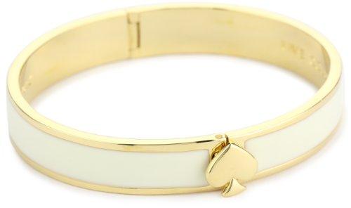Kate Spade New York Cream Hinge Bangle Bracelet