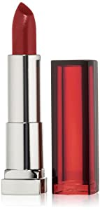 Maybelline New York ColorSensational Lipcolor, Red Revival 645, 0.15 Ounce